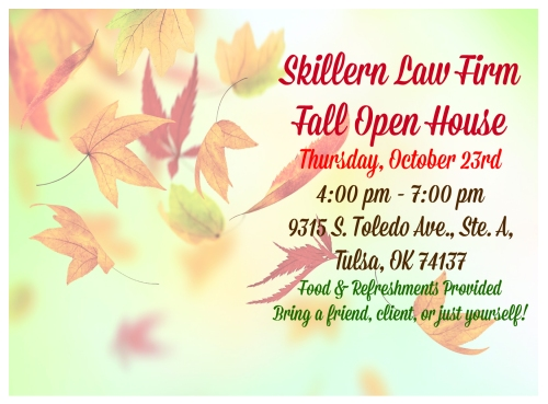 2014 Fall  Open House Invitet